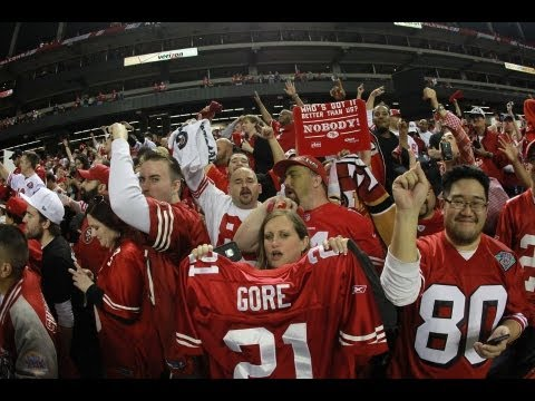 49ers Win Nfc Championship Everyone Goes Nuts