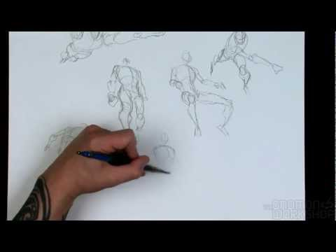 Видео как научиться рисовать тело