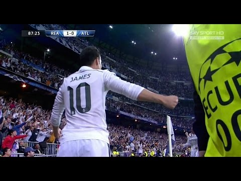 James Rodriguez vs Atletico Madrid Home HD 720p (22/04/2015) by JamesR10