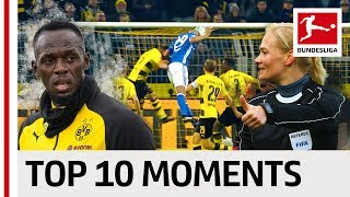 Greatest Moments of 2017/18 - Lewandowski's Record, Usain Bolt at BVB & More