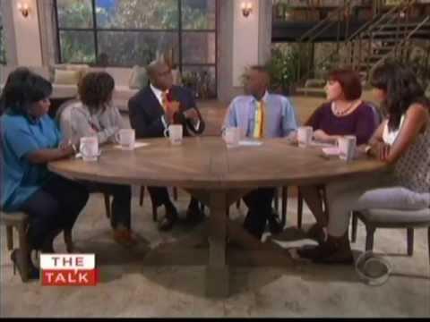 Magic Johnson Discusses OraQuick® on The Talk