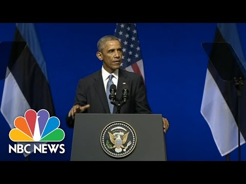 Obama: Russia Paying For Its Actions | NBC News