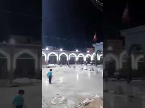 Holy Shrine Bibi Zainab s.a 2018 | Roza Janabe Zainab s.a