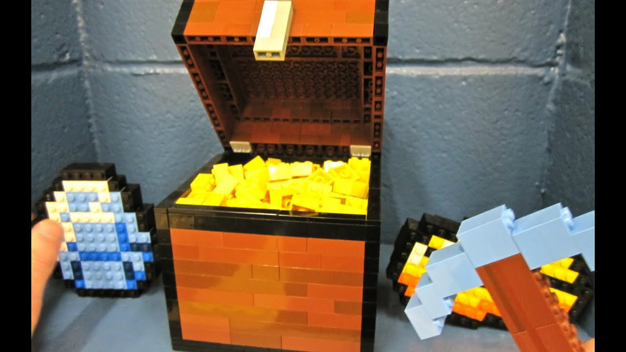 how to build minecraft things out of legos
