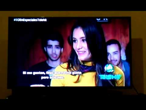 One Direction entrevista por Telehit
