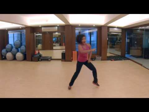 Zumba  Bollywood Dance Fitness Choreography on Saree Ke Fall...