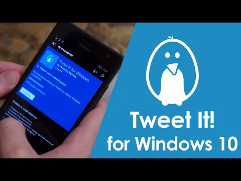 Обзор Tweet It! for Windows 10