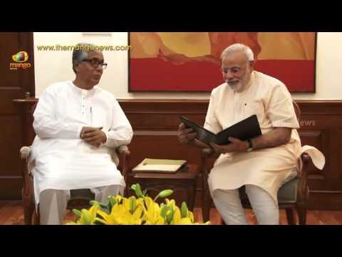 Tripura CM Manik Sarkar meets PM Modi