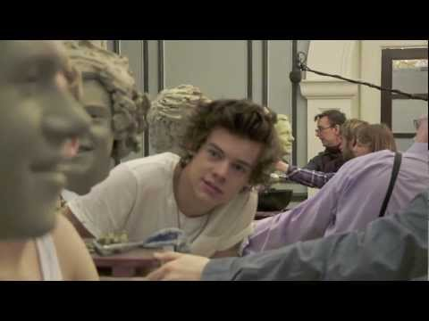 Sculpting Harry Styles from One Direction at Madame Tussauds London
