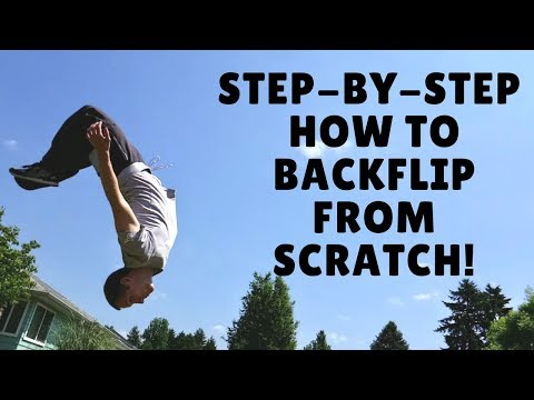 How to Backflip Tutorial - IN DEPTH! Step-by-step from zero to landing Backflips NOW!