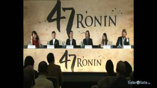47 Ronin - 47 Ronin - Press Conference with Keanu Reeves (2012)