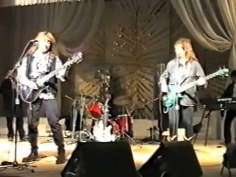 Владимир Кузьмин и Динамик. Репетиция перед концертом в Оренбурге 14.11.1995