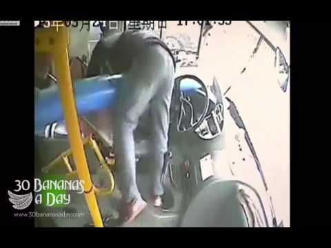 Horrific Bus Crash In China.