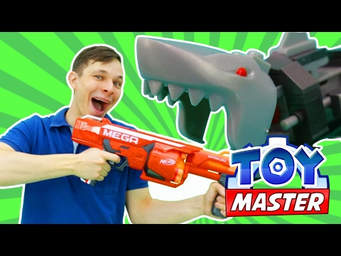 Игры для мальчиков. Испытания для машинки Hot Wheels! #МастерИгрушекФёдор (Toy Master) против акулы!