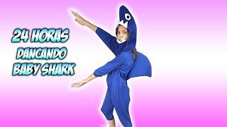 24 HORAS DANÇANDO BABY SHARK ( Nursery Rhymes & Kids Songs )