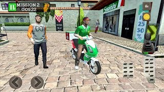 Pizza Delivery Driving Simulator #1 - Bike and Car Games Android gameplay #carsgames