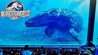 J'AI VISITÉ L'AQUARIUM DE JURASSIC WORLD ! | Jurassic Explorer