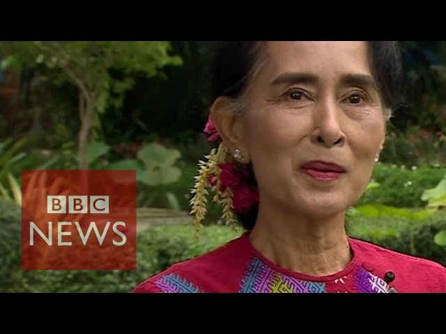 Aung San Suu Kyi: 75% of seats will 'probably' be won by NLD - BBC News