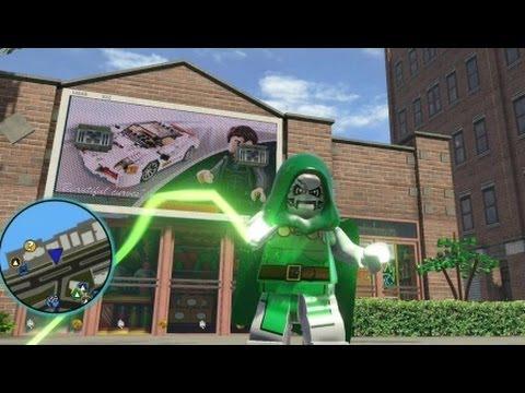 Marvel super heroes ps4 doctor doom free roam gameplay youtube