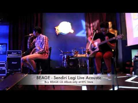 BEAGE - Sendiri Lagi Live Acoustic
