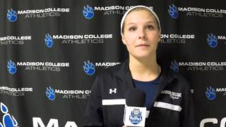 Carlson likes volleyball team's toughness