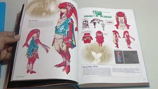 unboxing the legend of Zelda Champions Edition Book