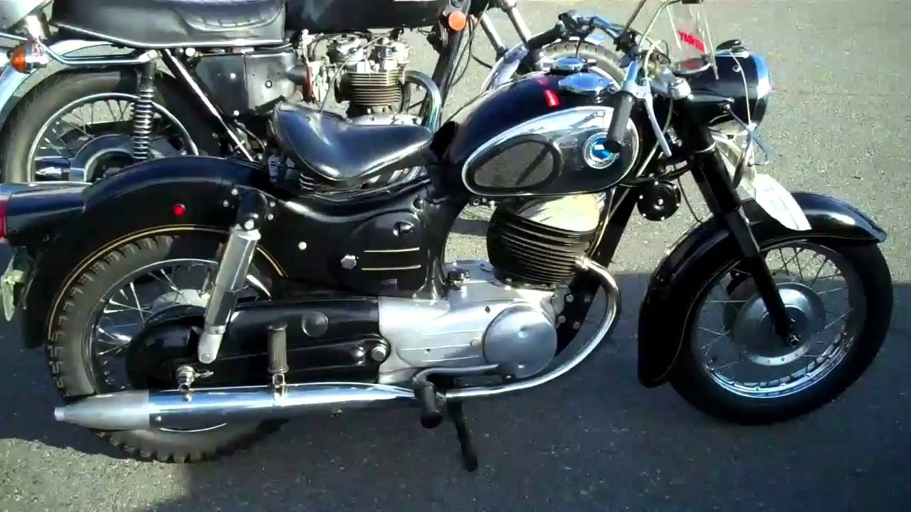"""Allstate Sign In >> 1964 Sears Allstate motorcycle 250cc-Puch 2 stroke 'Twingle"""" - YouTube"""