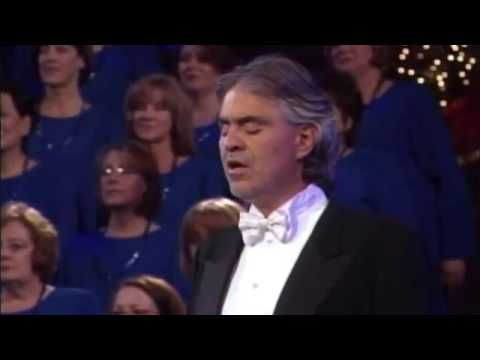 Mormon Tabernacle Choir with Andrea Bocelli - The Lords Prayer