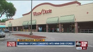 Sweetbay stores transitioning over to Winn Dixie name