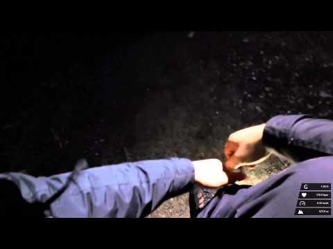 Nachtcachen mit der GARMIN VIRB Elite