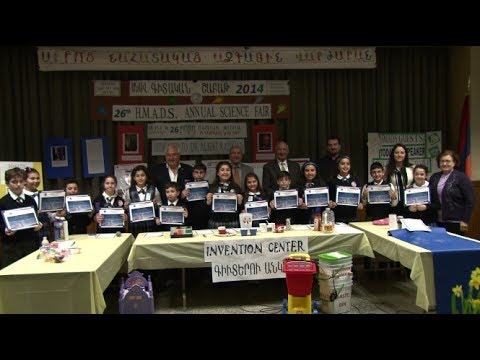 26th Annual Holy Martyrs Armenian Day School, Science Fair 2014