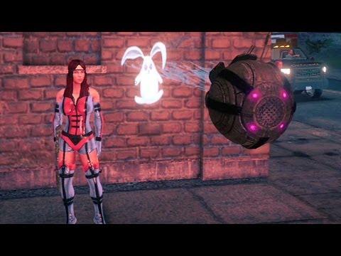 Saints Row IV #06: Siga o Coelho Branco / Arma Musical - gameplay Xbox 360 / PS3
