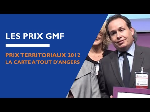 Prix Territoriaux 2012 : la carte A'tout d'Angers