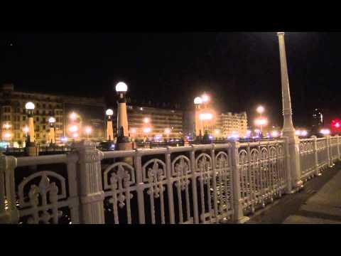 Sony HXR MC2000e. -Test One- .San Sebastian At Night