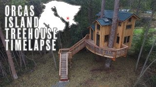 Treehouse Timelapse On Orcas Island