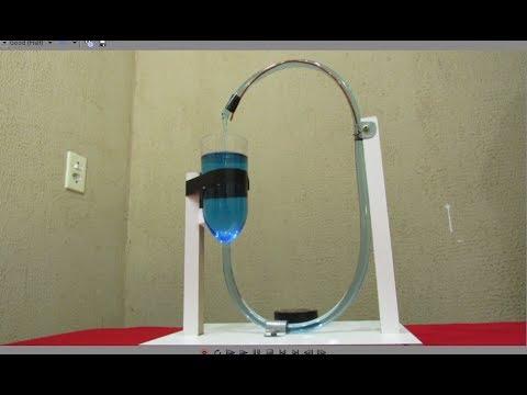 Movimento Perpétuo da Água -( Vaso de Boyle ) -- Perpetual Water Movement - (Boyle's Flask)