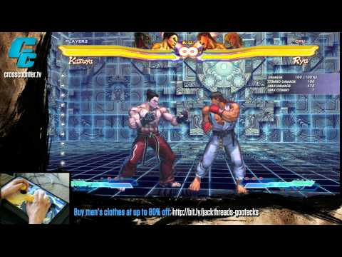 Street Fighter x Tekken - Kazuya DORYA Tutorial with Kelvin Jeon
