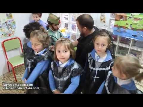 Procesión Educación infantil - Colegio de La Presentación de Guadix