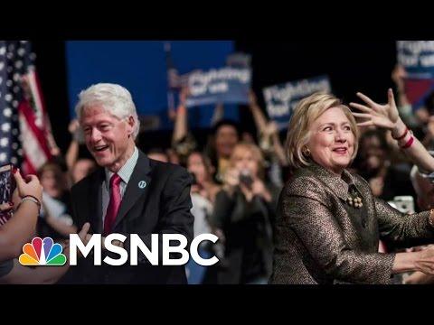 Bill Clinton Gets Personal In DNC Address | Rachel Maddow | MSNBC