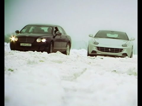 Тест-драйв: Bentley Flying Spur vs Ferrari FF - Автопарк - Интер