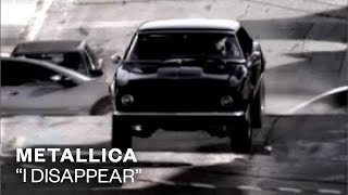 Watch Metallica I Disappear video