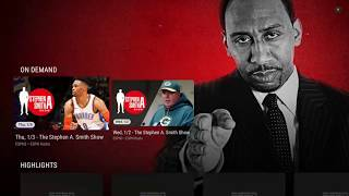 ESPN App On Nvidia Shield