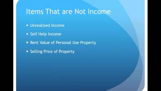 Gross Income Exclusions Video Lecture
