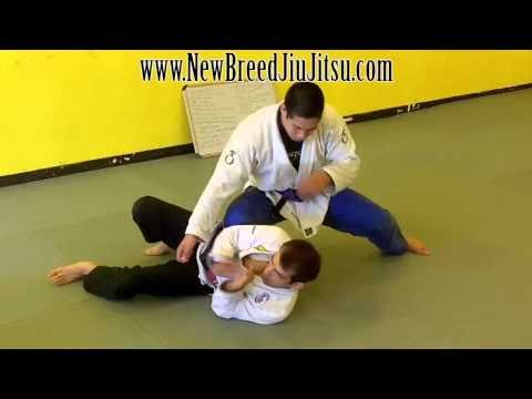 Knee on Belly - Elbow Escape - Jiu Jitsu Technique Image 1