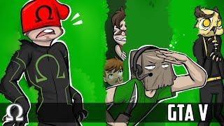 ONE KILLER MAZE, HALLOWEEN HUNT! (NEW CUSTOM MODE) | GTA V FUNNY MOMENTS Ft. Friends