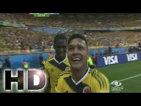 Colombia 3 - 0 Grecia Pablo Armeiro Gol RESUMEN Copa del Mundial Brasil | 14/06/2014 - FIFA