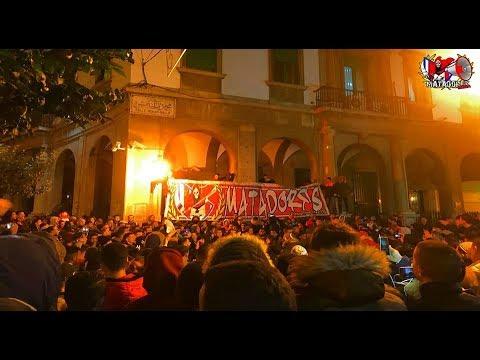 الوقفة الإحتجاجية لألتراس لوص مطادوريس ضد الفساد الكروي بتطوان