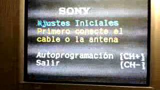 Aqui un video de como resetear tv Sony BA 6 despues de una reparacion en fuente