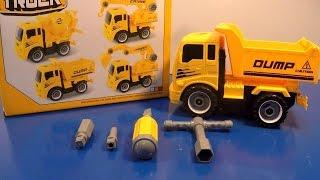 Xe ô tô tải tháo rời và lắp ráp đồ chơi trẻ em Toy Truck Builders by MN Toys