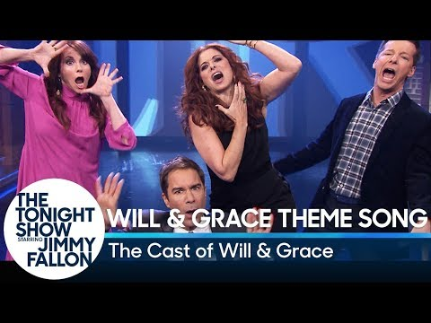 Will  Grace Cast Performs Their Theme Song with Ly MP3